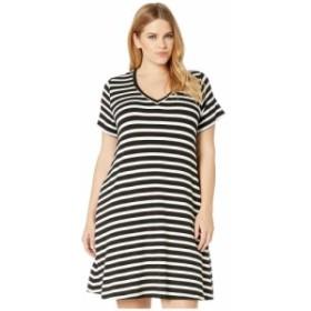 カレンケーン Karen Kane Plus レディース ワンピース 大きいサイズ Vネック ワンピース・ドレス plus size quinn v-neck pocket dress S