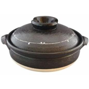 萬古焼 土鍋 25cm 2-3人用