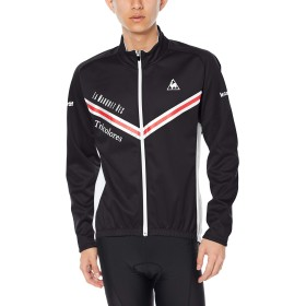 [ルコックスポルティフ] ジャージ Entry Bondling Fleece Jersey エントリーボンディングジャケット 防風 はっ水 保温 メンズ BLK 日本 M (日本サイズM相当)