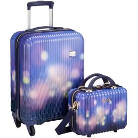 [シフレ] スーツケース ハードジッパー 小型 Sサイズ 1年保証付き LUN2116-48 機内持ち込み可 保証付 32L 48 cm 2.8kg ランタン