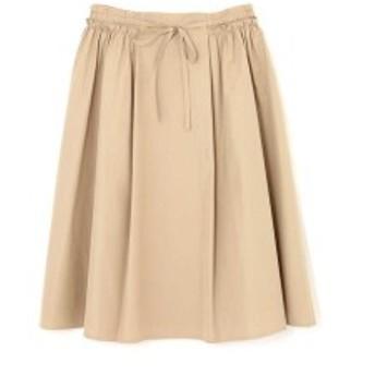 ナチュラルビューティー ラージ(NATURAL BEAUTY LARGE)/タフタサイドギャザースカート