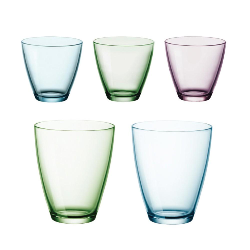 【義大利Bormioli Rocco】季諾水杯2入組共兩款 400cc 260cc《泡泡生活》玻璃杯 玻璃水杯