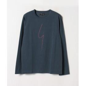 (agnes b./アニエスベー)SE30 TS ポワンディロニーTシャツ/メンズ グレー系その他