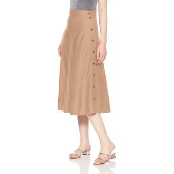 [ローズバッド] スカート サイドボタンフレアスカート レディース 6009134018 ベージュ 日本 S (日本サイズS相当)