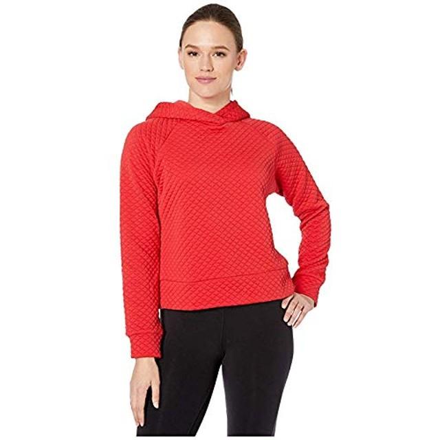 [New Balance(ニューバランス)] レディーススウェット・パーカー等 NB Heat Loft Hoodie Team Red M [並行輸入品]