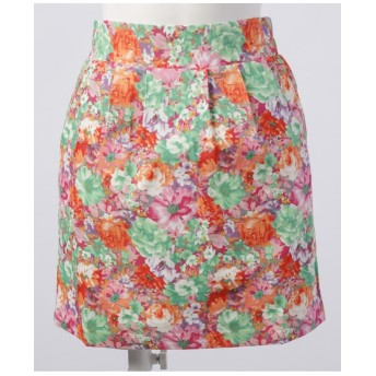【MALIANI PINK LABEL】フラワープリントスカート
