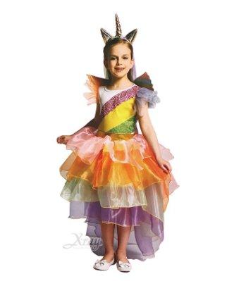 獨角獸彩虹小馬(小孩),萬聖節服裝/化妝舞會/派對道具/尾牙變裝/cosplay/獨角獸,X射線【W380036】