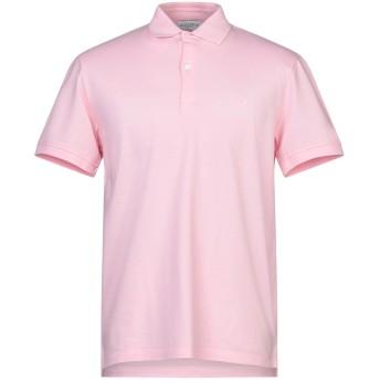 《セール開催中》BALLANTYNE メンズ ポロシャツ ピンク S コットン 100%