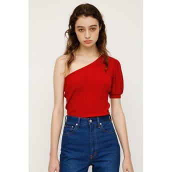 ONE SHOULDER PUFF SLEEVE TOPS