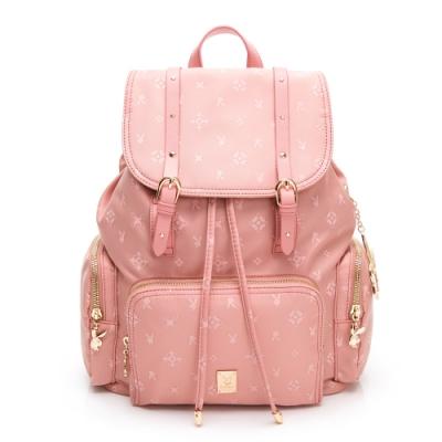 PLAYBOY 後背包 Floral花漾系列 粉膚色 592-1301-20-8