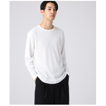 【WEB限定】ワッフルクルーカットソー