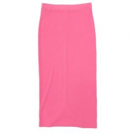 【CHILLE】 リブタイトスカート