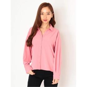 バックツイストシャツ/セシルマクビーオリジナル スキッパー 長袖