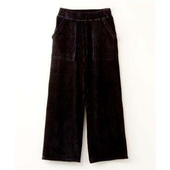 コーデュロイ風カットソーパンツ【RAM LOSSA】 (大きいサイズレディース)パンツ, plus size pants
