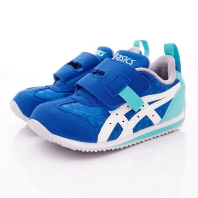 asics競速童鞋 繽紛休閒鞋款-44A023-400藍(中小童段)