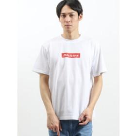 【on the day:トップス】ディッキーズ/Dickies ルーズフィットBOXロゴ クルーネック半袖Tシャツ