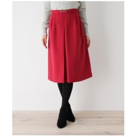 【her style.掲載】【36(S) 、42(LL)WEB限定サイズ】ビットボックスプリーツスカート