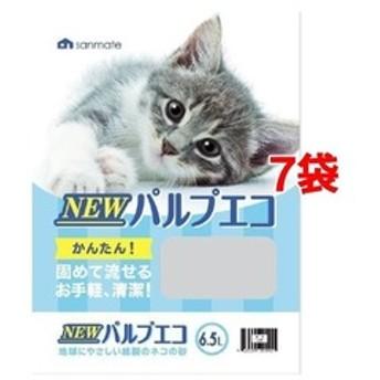 dポイントが貯まる・使える通販| NEWパルプエコ (6.5L*7袋セット) 【dショッピング】 猫砂 おすすめ価格