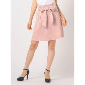 リボンベルト付台形スカート / CANDY LODISPOTTO