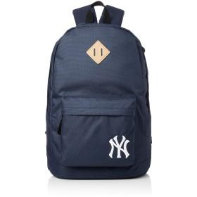 [メジャーリーグベースボール] リュック デイパック バックパック カバン かばん 鞄 MLB メジャーリーグベースボール ロゴ 刺繍 600Dポリエステル レディース メンズ ユニセックス YK-MBBK07 ネイビー One Size