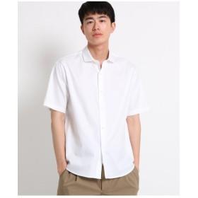 半袖ピンオックスシャツ
