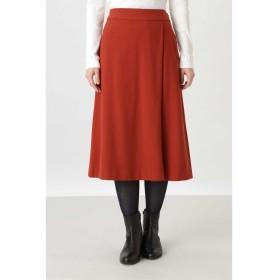 ◆フェイクウールスカート オレンジ