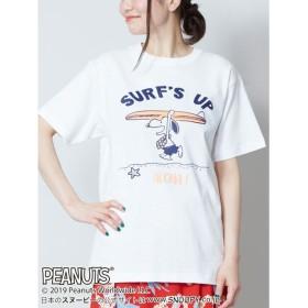 【Kahiko】スヌーピーサーフTシャツM ホワイト