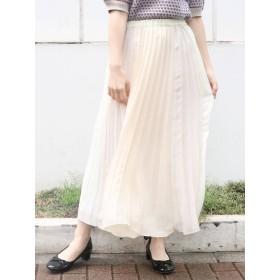 【S】パネルカラープリーツスカート