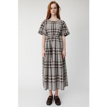 CHECK H/S FLARE ドレス