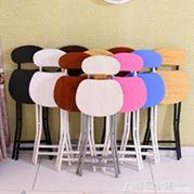摺疊椅子凳子家用椅餐桌凳高餐椅小圓凳靠背板凳簡易簡約便攜釣魚ATF 全館免運