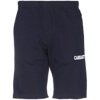 《セール開催中》CARHARTT メンズ バミューダパンツ ダークブルー XL コットン 100%