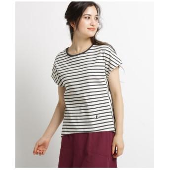 【洗える Sサイズあり】コットンボーダーTシャツ