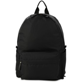 MONICA シンプルリュックサック リュック・バッグパック,ブラック