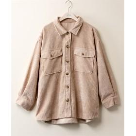 コーデュロイアウトポケットシャツジャケット【CASSE】