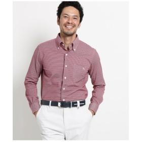 【吸水速乾/UVカット】アダバット×HITOYOSHI SHIRTS 長袖ボタンダウンシャツ