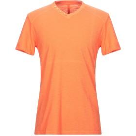 《セール開催中》EN AVANCE メンズ T シャツ オレンジ L コットン 100%