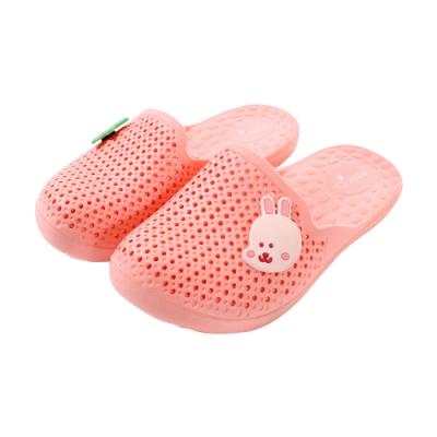 魔法Baby 兒童室內拖鞋 軟Q輕量防滑透氣居家拖鞋 sd0569