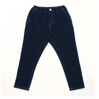 【COMME CA ISM:パンツ】【洗える】 デニム調 裏毛 パンツ