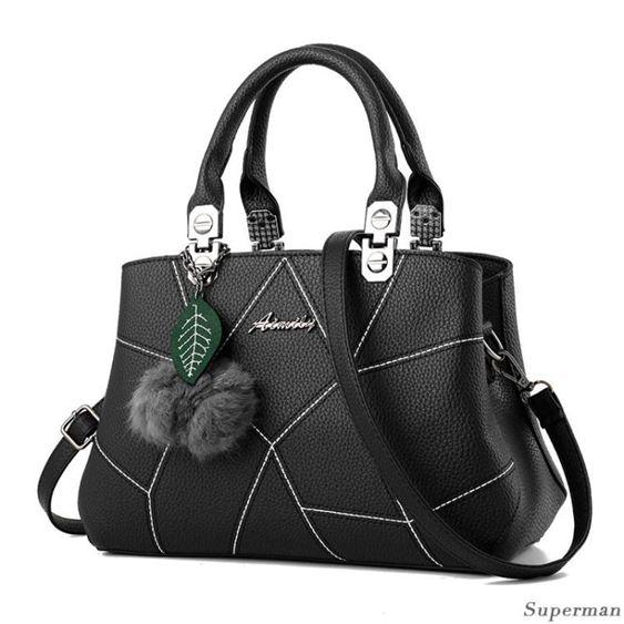 手提包 - 正韓女士包包 新款時尚單肩包 斜背包 韓版手提包