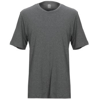 《セール開催中》ELEVENTY メンズ T シャツ 鉛色 XXL コットン 100%