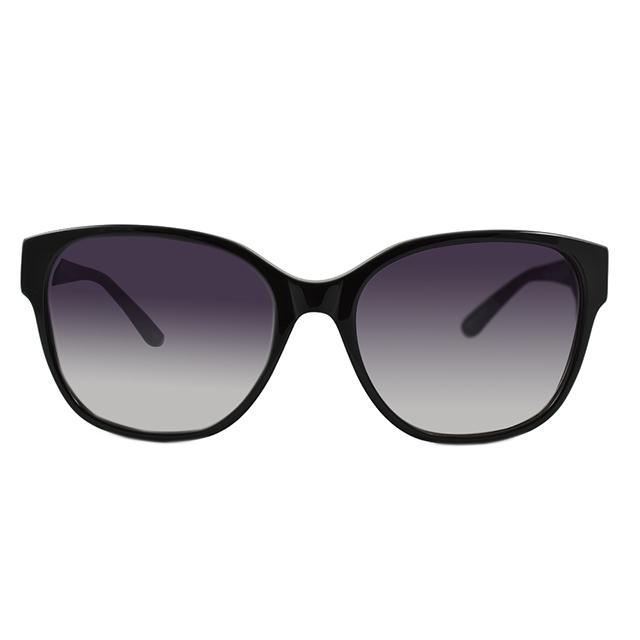 【ANNA SUI 安娜蘇】安娜方塊圖騰系列太陽眼鏡(AS938001-黑)
