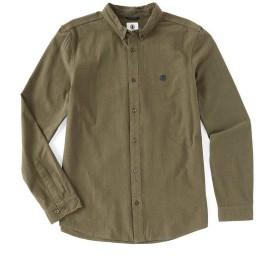 [エレメント] メンズ シャツ Icon Crisp Solid Long-Sleeve Crepe Shirt [並行輸入品]