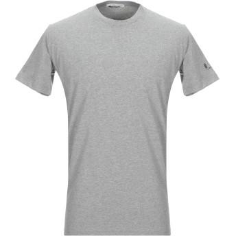 《セール開催中》GREY DANIELE ALESSANDRINI メンズ T シャツ グレー M コットン 90% / ポリウレタン 10%