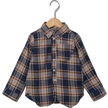 【キッズ】ビエラチェックボタンダウンシャツ