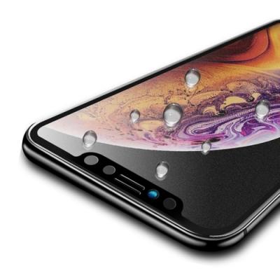 iPhone XR 軟邊 滿版 霧面 9H 鋼化玻璃膜 手機 保護貼 ( iPhoneXR保護貼 iPhoneXR保護貼 )