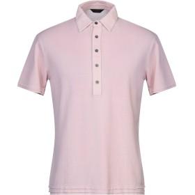 《セール開催中》HSIO メンズ ポロシャツ ピンク M コットン 100%