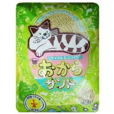 【??培菓寵物48H出貨??】韋民用量超省超經濟日本豆腐砂 7L 特價299元(蝦)