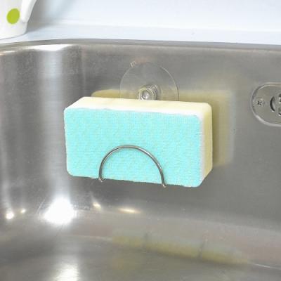日本AISEN 極細刷毛海綿刷(5包裝)送吸盤架
