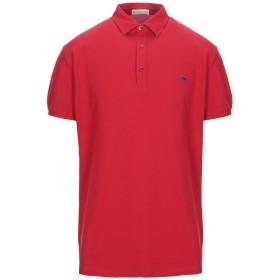《セール開催中》ETRO メンズ ポロシャツ レッド XL コットン 100%