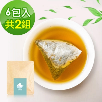 KOOS-清韻金萱烏龍茶-隨享包2組(6包入)